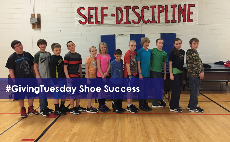 #GivingTuesday Shoe Success