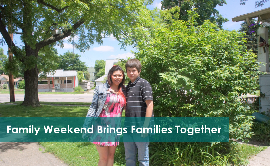 Family Weekend Brings Families Together