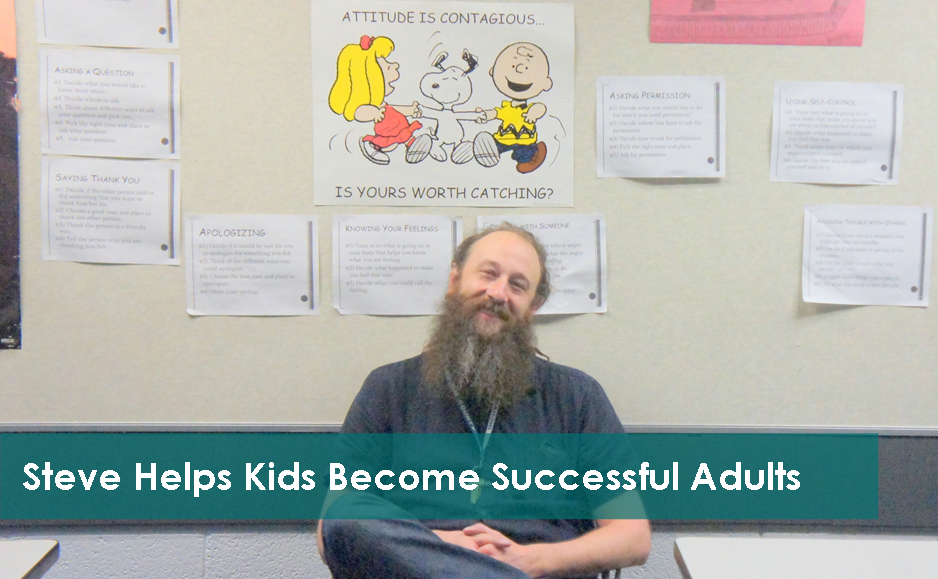 Steve Helps Kids Become Successful Adults